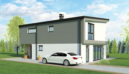 Nizkoenergijska hiša - Rihter 154