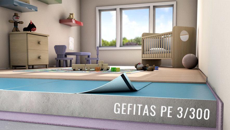 Zaščita pred vlago Gefitas PE 3/300